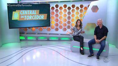Telespectadores participam do Globo Esporte RS com a #CentralDoTorcedor - Assista ao vídeo.