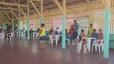 Justiça Itinerante leva ações jurídicas e sociais para comunidades do Bailique, no Amapá - Mais de 30 profissionais à bordo de uma embarcação aportaram no arquipélago do Bailique, a 180 quilômetros de Macapá. Foram ofertadas orientações e emissões de documentos.