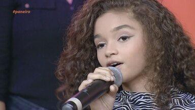 Parte 2: Vencedora do 'Cantando no Paneiro Kids' se apresenta no palco do programa - Railane Araújo mostra que tem muito talento.