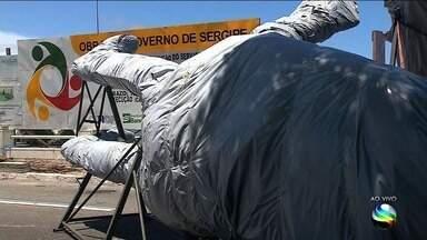 Avenida Ivo do Prado será parcialmente bloqueada neste fim de semana - Interrupção é por causa da obra do Largo da Gente Sergipana.