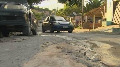 Moradores reclamam da grande quantidade de buracos na zona norte de Manaus - Recentemente a rede amazônica mostrou a situação complicada das ruas do conjunto Boas Novas.
