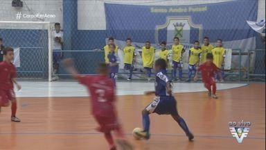 Final da Copa Corpo em Ação de futsal agita ginásio em Santos - Equipes disputam o título da competição no Ginásio do Gremetal, na Vila Matias.