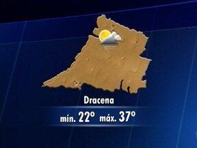 Meteorologia prevê chuva no Oeste Paulista neste fim de semana - Veja como ficam as temperaturas.