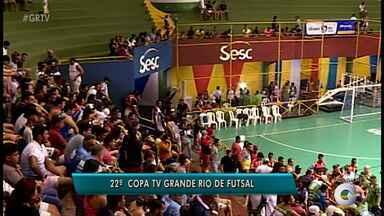 Veja o que está rolando na abertura da Copa TV Grande Rio - Times já foram em quadra.