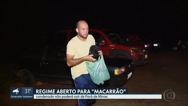 Condenado pela morte de Eliza Samudio, Macarrão vai cumprir sete anos da pena em casa - Ele saiu ontem da prisão.