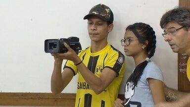 Pipoca em cena leva cinema ao Bairro da Paz, em Manaus - Confira como foi mais uma edição do projeto da Rede Amazônica.