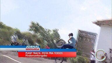 Pindamonhangaba ganha pista de Pump track - Pista é voltada a prática de modalidade de embalo no BMX.
