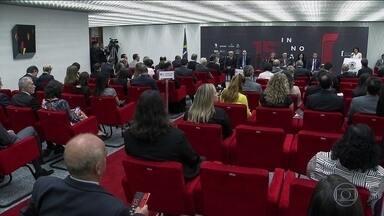 Justiça lança 15ª edição do Prêmio Innovare; o tema é corrupção - Premiação é uma iniciativa apoiada pelo Grupo Globo para práticas que contribuem para a modernização da Justiça.