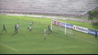 Confira os lances de Serrano-PB 1 x 0 CSP - Lobo da Serra sai na frente do Tigre na briga por uma vaga nas semifinais do Campeonato Paraibano.