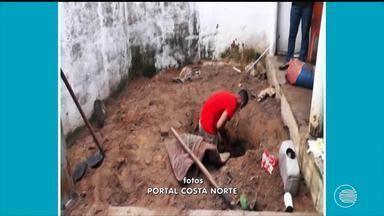 Suspeitos de tortura, homicídio e ocultação de cadáver são presos em Parnaíba - Suspeitos de tortura, homicídio e ocultação de cadáver são presos em Parnaíba