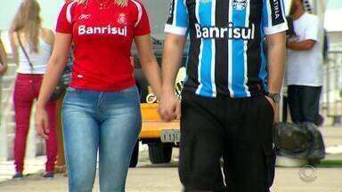 Dupla se prepara para Gre-Nal do próximo domingo (11) no Beira-Rio - Assista ao vídeo.