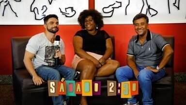 Chamada: Você vai curtir o lançamento do filme Os Farofeiros neste sábado (10) - Daniel Viana vai conversar com Cacau Protásio e Maurício Manfrini