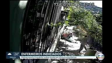 Polícia indicia quatro funcionários de clínica psiquiátrica no Rio por morte de músico - Quatro funcionários da clínica psiquiátrica da Gávea foram indiciados pela morte do músico Mário Travassos em julho de 2017.