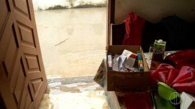 Distrito de Travessão, em Campos, RJ, moradores estão contabilizando os prejuízos - Assista a seguir.