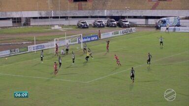 Esporte: Morenão recebe três jogos do Campeonato Sul-Mato-Grossense - Por causa da decisão do Tribunal de Justiça Desportiva que tirou o Costa Rica do campeonato, novos jogos das quartas de final tiveram que ser realizados.