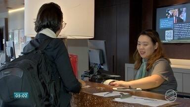 Fiscais visitam hotéis em Campo Grande - Fiscais estão visitando os hotéis de Campo Grande. A intenção é cuidar de detalhes que garantem o conforto e a segurança de quem visita Mato Grosso do Sul.