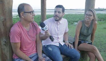 Calçadão da Praia Formosa é destaque no 'Combinado' - Paulo Teles, professor e historiador contou um pouco da historia e curiosidades da cidade de Aracaju, no Missão Repórter Combinado.