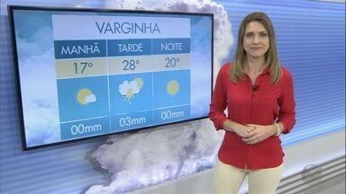 Confira a previsão do tempo para este sábado (17) no Sul de Minas - Confira a previsão do tempo para este sábado (17) no Sul de Minas