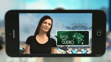 Que Brasil você quer para o futuro? - Grave o seu vídeo e mande para a gente.