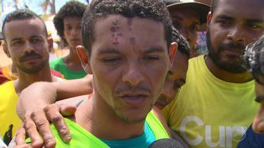 Baba solidário arrecada doações para sobrevivente da tragédia em Pituaçu - A partida ganhou destaque pelo programa Globo Esporte Bahia, na tarde deste sábado (17).