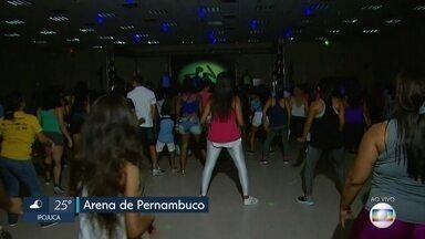 Arena de Pernambuco realiza evento com atrações esportivas e culturais durante 24 horas - Super Virada ocorre pela primeira vez no estádio localizado em São Lourenço da Mata, no Grande Recife.