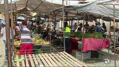 Chuvas mudam preços de frutas e verduras - Comerciantes esperam que preços melhorem em breve.