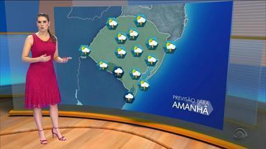 Tempo: tarde de domingo (18) será de chuva em todo o estado - Assista ao vídeo.