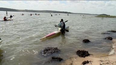 Rio Bananal inicia comemorações da Semana Nacional da Água - Tem canoagem nas águas da Lagoa Jesuína.