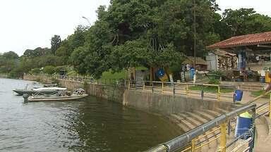 Donos de restaurantes e pousadas buscam alternativas para atrair visitantes para Alter - Com a subida do rio, turistas encontram opções de músicas ao vivo em estabelecimentos, comidas típicas da região e passeios pelas praias do Tapajós.