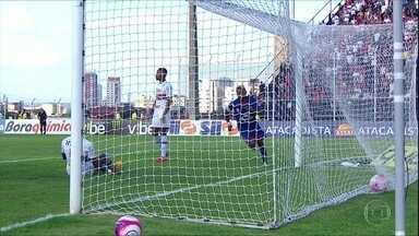 São Caetano derrota o São Paulo com gol de Chiquinho - São Caetano derrota o São Paulo com gol de Chiquinho