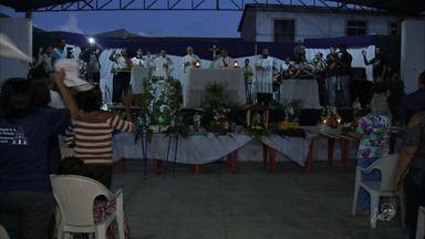 Fiéis prestam homenagens em Pindoretama ao Dia de São José, padroeiro do Ceará - Mais informações você pode conferir no g1.com.br/ce.