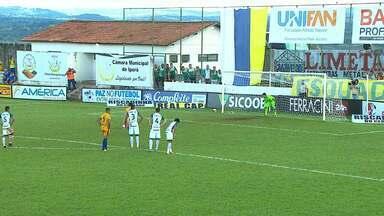 Iporá 4 x 1 Goiás