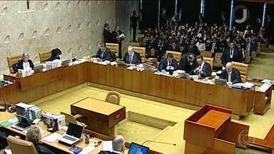 STF vai analisar nesta quinta-feira Habeas Corpus de Lula - Defesa do ex-presidente tenta garantir que ele recorra da condenação no caso do Triplex em liberdade. Tribunal Regional Federal marcou julgamento dos recursos do ex-presidente na segunda-feira