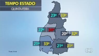 Veja a previsão do tempo desta quinta-feira(22) - Veja a previsão do tempo desta quinta-feira(22)