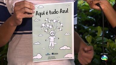 """Livro """"Para Colorir Aqui é Tudo Azul"""" será lançado no Museu da Gente Sergipana - Publicação é da ONG SOMOS. A repórter Denise Gomes tem mais informações."""