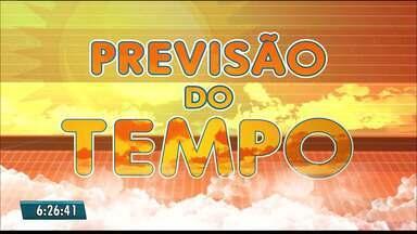 Confira a previsão do tempo para todo a Paraíba - Veja a previsão para cada região do Estado.