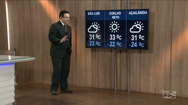 Veja a previsão do tempo nesta quinta-feira (22) no MA - Confira como deve ficar o tempo e a temperatura em São Luís e no Maranhão.