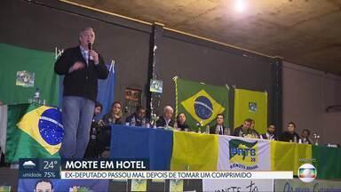 Polícia esclarece morte de ex-deputado - Luciano Pizzatto, do PRTB, morreu na madrugada desta quarta-feira (21), no Hotel Nacional de Brasília.