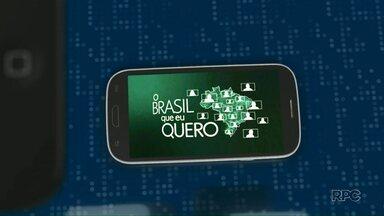 Que Brasil você quer para o futuro? - Você tem 15 segundo para dar o seu recado