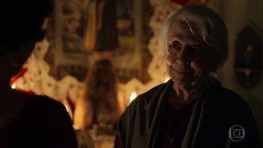 Mercedes pede perdão à filha - Diva sente um chamado e aparece na casa da mãe