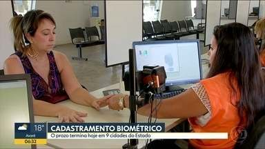 Cadastramento biométrico para eleições termina nesta sexta em Guarulhos e outras 8 cidades - Para outras 75 cidades de São Paulo, a biometria pode ser feita até terça-feira (27).