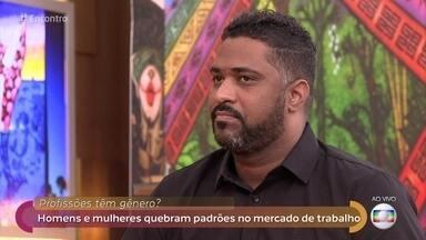 Vinicius é enfermeiro e enfrenta preconceito no dia a dia - Enfermeiro conta caso de paciente que se recusou ser atendida após cirurgia
