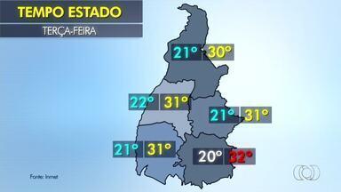 Veja como fica o tempo em todo o Tocantins nesta terça-feira (27) - Veja como fica o tempo em todo o Tocantins nesta terça-feira (27)