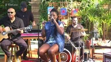 Ludmilla abre o 'É de Casa' - Cantora canta 'Hoje'