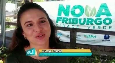 Praça de Conselheiro, distrito de Nova Friburgo recebe o projeto 'Cidade Verde' - Assista a seguir.