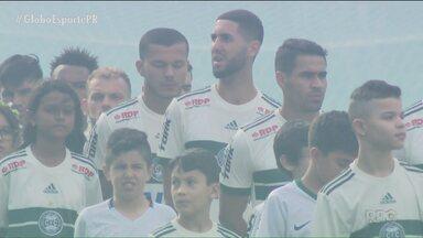Coritiba tem semana cheia e motivação alta - Coxa tem atenção máxima para a finalíssima do Campeonato Paranaense; objetivo é voltar a levantar uma taça na casa do rival