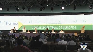 Presidente Michel Temer participa de Congresso em Santos - Temer participou da abertura do Congresso Estadual de Municípios. Ele citou a importância da autonomia das cidades.