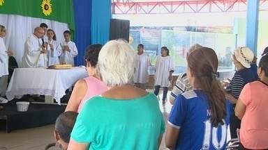 Missa no AM lembra a necessidade de inclusão dos autistas - Missa foi no Centro de Convivência da Família Madalena Arce Daou.