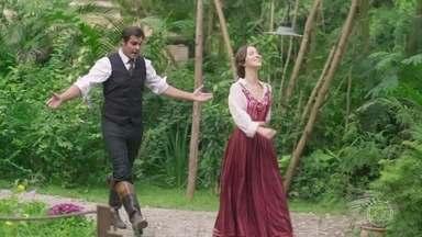 Elisabeta não perdoa a mentira de Darcy - Darcy confessa que desconfiou das intenções de Jane com Camilo. Elisabeta fica arrasada ao saber que o rapaz só lhe contou a verdade por pressão de Ema