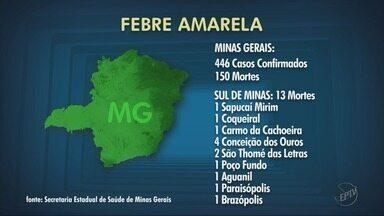 Saúde confirma febre amarela em macacos achados mortos em mais 2 cidades do Sul de MG - Saúde confirma febre amarela em macacos achados mortos em mais 2 cidades do Sul de MG